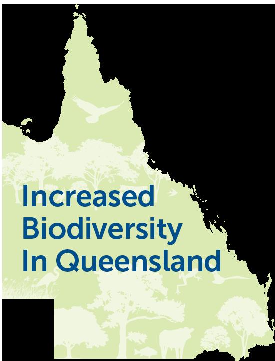Increased biodiversity in Queensland