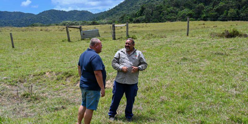 Positive + productive Indigenous land management partnerships